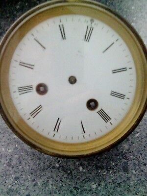antique french  clock movement,