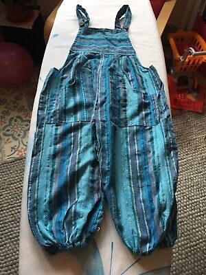 Toddler Hippy Dungarees 3-4 Years