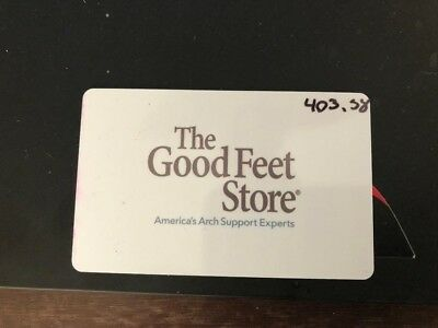 The Good Feet Store Gift Card !!!!