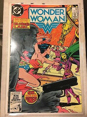 Wonder Woman #319- 320 (Sep 1984, DC) ** KEY ISSUE** Copper Age
