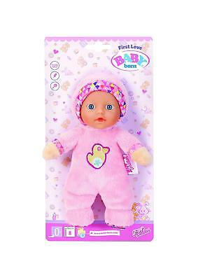 Zapf Creation Baby Born First Love Mini Doll Pink 18cm Toy