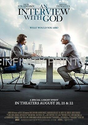 An Interview With God Movie Film Poster A3 A4