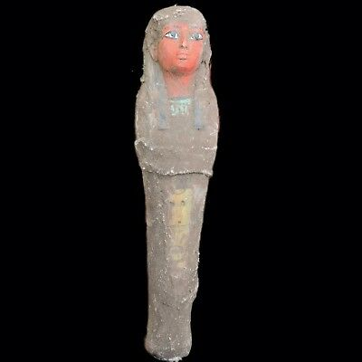 EGYPTIAN HIEROGLYPHIC SHABTI, LATE PERIOD 664 - 332 BC (8) LARGE (3) Over 20cm
