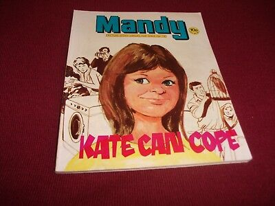 VERY EARLY MANDY PICTURE STORY LIBRARY BOOK from 1970's: never read: ex condit!