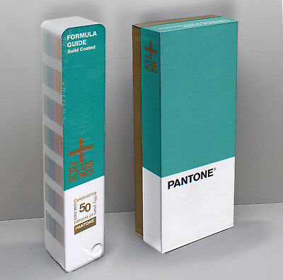 1,677 Colors - Pantone Color Formula Guide Solid - COATED - 50th Year - - Sealed