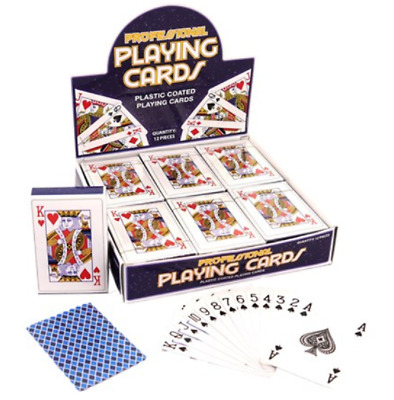 playing cards Traditional Plastic Coated Playing Cards Sealed 1 or 2 Decks