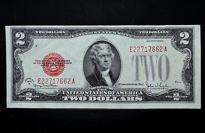 1928-G $2 United States Note ✪ Au Almost Uncirculated ✪ Legal Tender Us◢Trusted◣