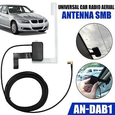 Universal AN-DAB1 Glass Mount DAB Digital Car Radio Aerial Antenna Adhesive UK