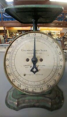 Antique Columbia Family Scale