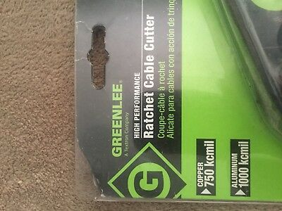 Greenlee 45207 High Performance ratcheting cable cutter   750kcmil