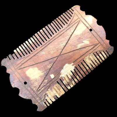 Ancient Roman Period Decorated Hair Comb 2nd-3rd Cent AD (2)