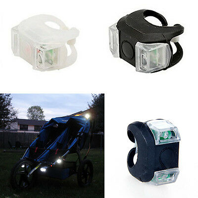 Silicone Lamp Stroller Caution Pram Light Outside Alarm for Babys' Safety Tops