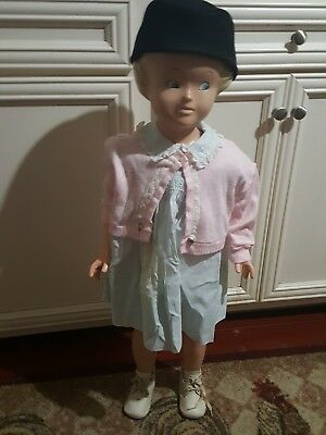 Vintage Buster Brown Doll Mannequin Girl