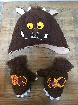 Gorgeous The Gruffalo Hat & Mitts Set 2-3 Years (50cm)