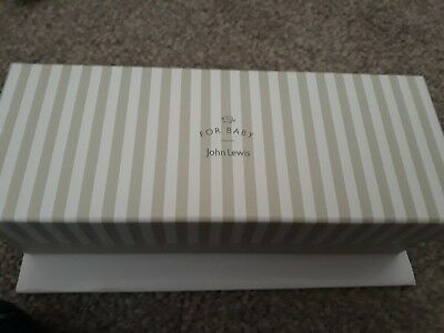 John Lewis Christening/Thanksgiving gift train & carriages tooth and curl holder