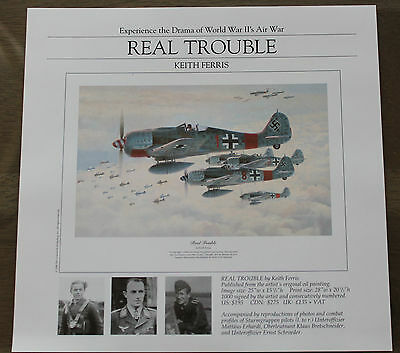 Keith Ferris - Real Trouble - Aviation FLYER