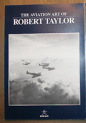 Robert Taylor The Aviation Art Of - Art FLYER (Bader's Bus Company Cover)