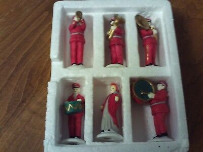 Dept 56~Heritage Village~Salvation Army Band~6 Pc~ In Box~5985-4