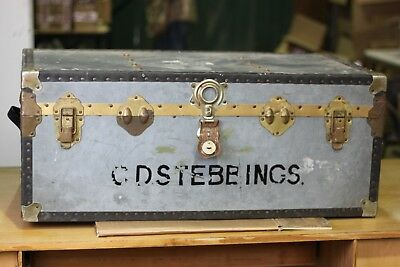 Vintage Steamer Trunk, Luggage