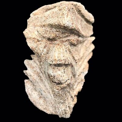 Ultra Rare Stone Age Ancient Neolithic Anthromorphic Vinca Bust, 4500Bc (6)