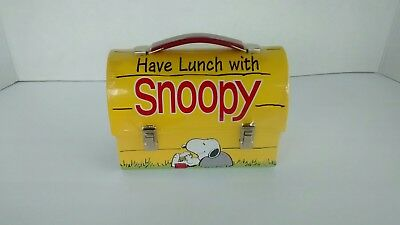 Limited Edition Snoopy Doghouse Lunchbox Metal New Hallmark 20644 of 24500