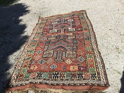 Antique quchan Kurd rug