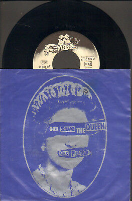 """Sex Pistols-7""""-45-Ps- God Save The Queen- Org. Virgin-Germany- 1977- Mint"""