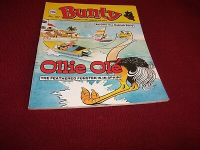 BUNTY PICTURE STORY LIBRARY BOOK from the 1980's - never been read: ex condit!