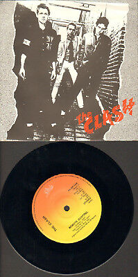 """The Clash-Japan-7""""-45-Ps- Remote Control/london`s Burning- Epic-Japan- Topmint"""