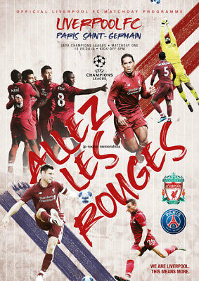 Liverpool v Paris St Germain PSG - UEFA Champion's League - 18 September 2018