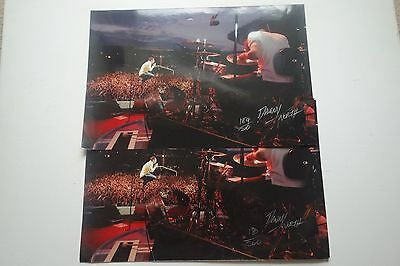 Kaiser Chiefs Limited Edition Hand Signed And Numbered Autographed 2 Photo Print