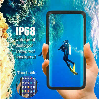 For Samsung Galaxy S8 Waterproof Case 360 Shockproof Screen Protector Clear New