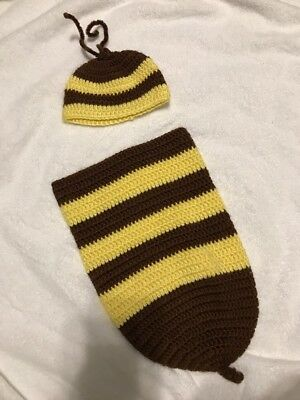 Adorable Newborn Baby Bee Outfit!