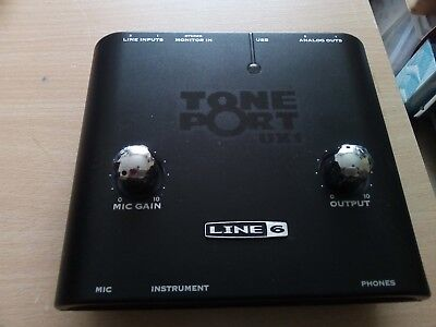 Line 6 Helix UX1  Portables Audio Interface f. Gittaristen u.Bassisten