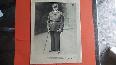 4 Portraits Philippe Petain Marechal De France  39/45