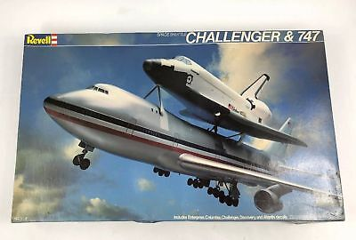 Revell SPACE SHUTTLE CHALLENGER & 747 Model - 1/288 Scale - New in Opened Box