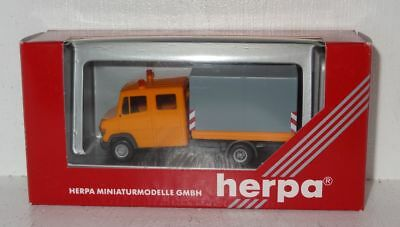 D1971 Herpa 043939 Mercedes-Benz T2 Vario Kommunal orange 1:87 OVP