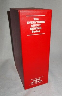 Manuals books sewing 1930 now collectibles picclick vintage 1972 everything about sewing series vogue patterns box set 12 books 70s fandeluxe Images