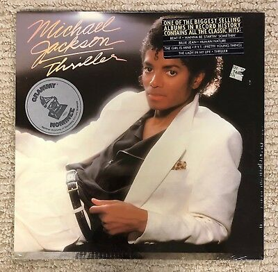 MICHAEL JACKSON - THRILLER LP Record *SEALED* VINTAGE 80's Pressing! BEAT IT