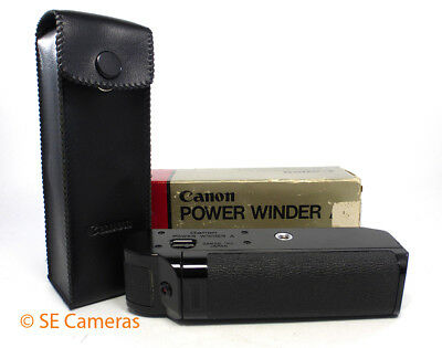 Canon Power Winder A For Use With Canon A Series Cameras *excellent*