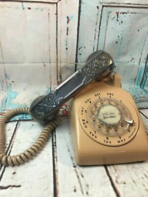 Amazing Vintage Itt Pink Rotary Dial Wall Phone Reconditioned Excellent Wiring Cloud Hisonuggs Outletorg
