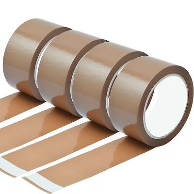 Heavy Duty Low Noise Brown Thick Packing Parcel Tape 48Mm X 56M Strong & Durable