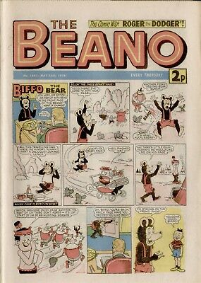 The Beano Comic #1662 May 25th 1974 - very good condition