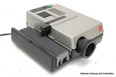 ++ LEICA Pradovit P 150 35 mm Slide Projector ++ Immaculate in Case Working