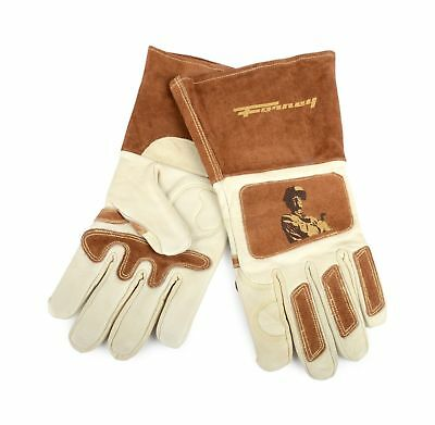 Forney 53410 Signature Men's Welding Gloves, Large