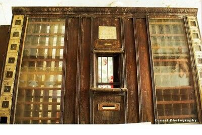 Antique Country Store Post Office, Mail Teller Window