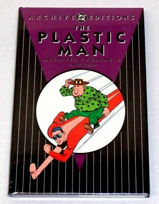 DC ARCHIVE EDITIONS THE PLASTIC MAN Vol 6 (SEALED-UNREAD) Jack Cole see more