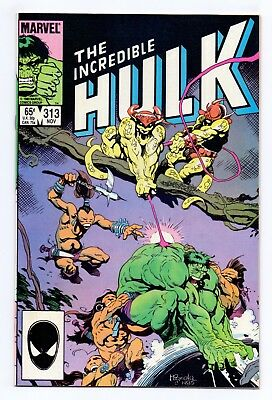Marvel Comics: Incredible Hulk #313 & #314 - Both Issues!