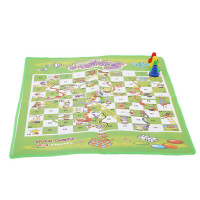 Traditional Board Games Set Children Chess Ludo Snakes and Ladders Game Toy LH