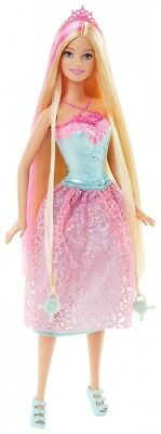 Barbie Endless Hair Kingdom Princess Doll, Pink. Best Price